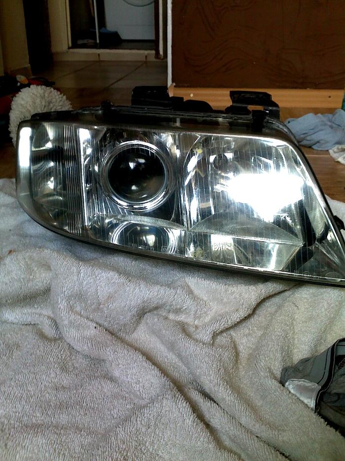 Audi A6 A7 Klub Polska A6 C5 Odnowa Lamp Przednich